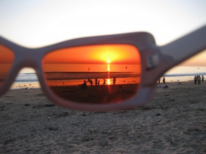 Sunglasses Sunset